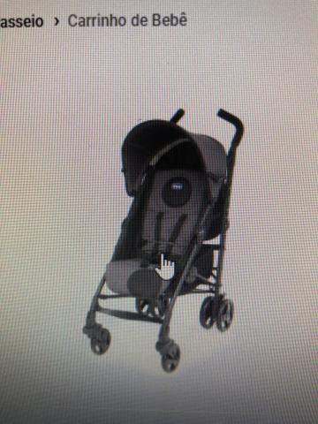 Vendo carrinho de bebê Chicco lite way - Foto 6