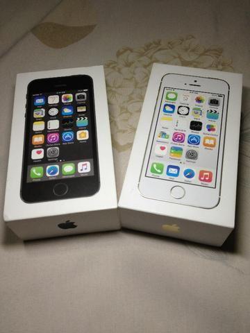 Iphone 5s Preto e Dourado Caixas Originais - Foto 4