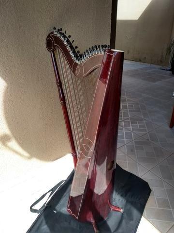 Harpa paraguaia artesanal - Foto 3