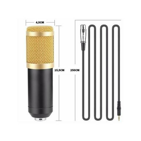 Microfone BM 800 - Pouco Usado - Foto 4