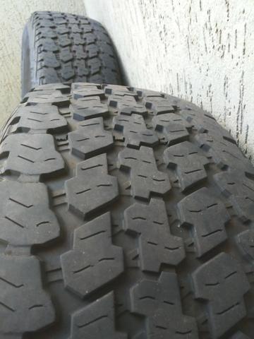 Rodas f250 com pneus goodyear - Foto 5