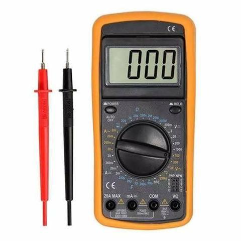 Multímetro digital com capacímetro (aceito cartão)
