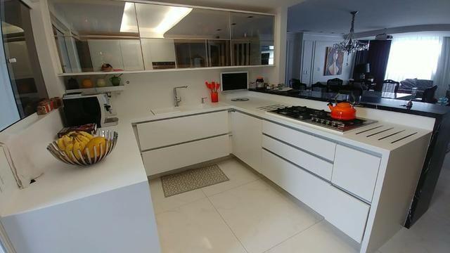 Apartamento bem mobiliado de 3 dormitórios no Centro de Florianópolis - SC - Foto 18