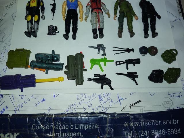 Lote de bonecos comandos em ação gi joe - Foto 3