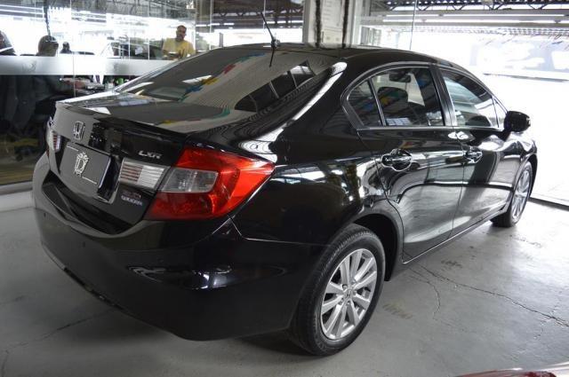 Honda Civic Sedan LXR 2.0 Flexone 16V Aut. 4p - Preto - 2014 - Foto 4