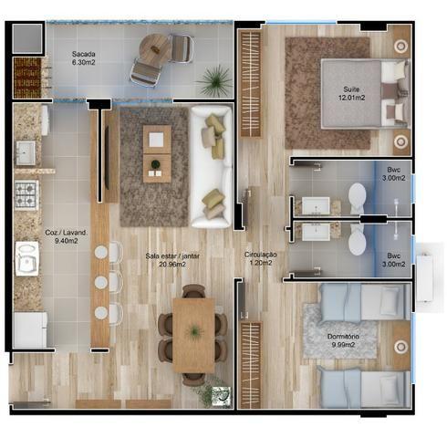 VA-Lindo apartamento em Camboriú! Confira! - Foto 4