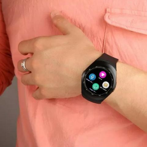 Relógio Bluetooth Smart Watch Y1 Android E Ios Tomate Tr02 - Foto 2