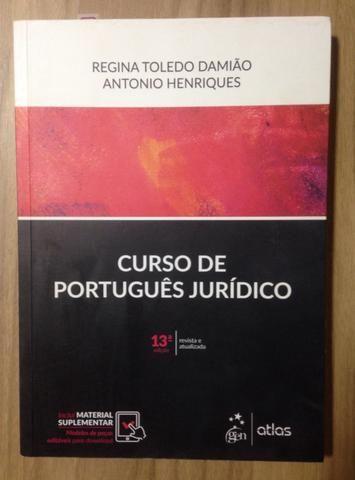 Livro Curso Português Jurídico