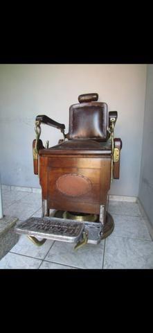 Cadeira de barbeiro vintage - Foto 2