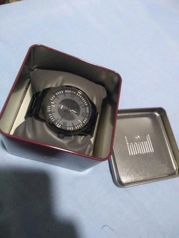 Relógio Dumont - Black - Foto 4