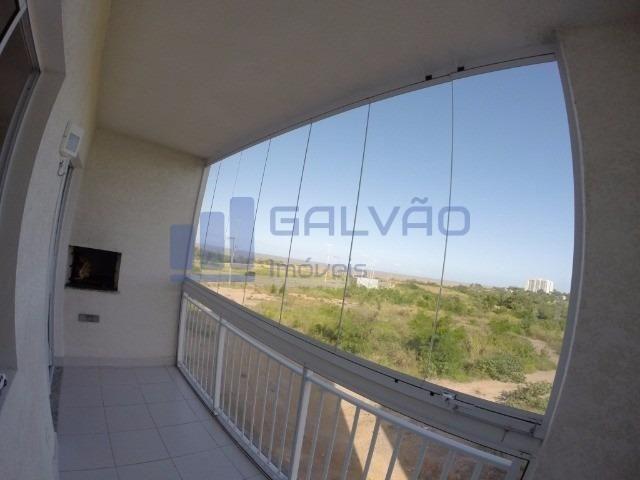 MR- Excelente apartamento na Praia da Baleia, 2Q com suíte e Varanda Gourmet - Foto 4