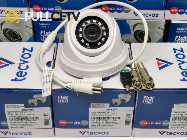 Câmera Dome Flex Tecvoz 720p 1mega 5x1 25metros