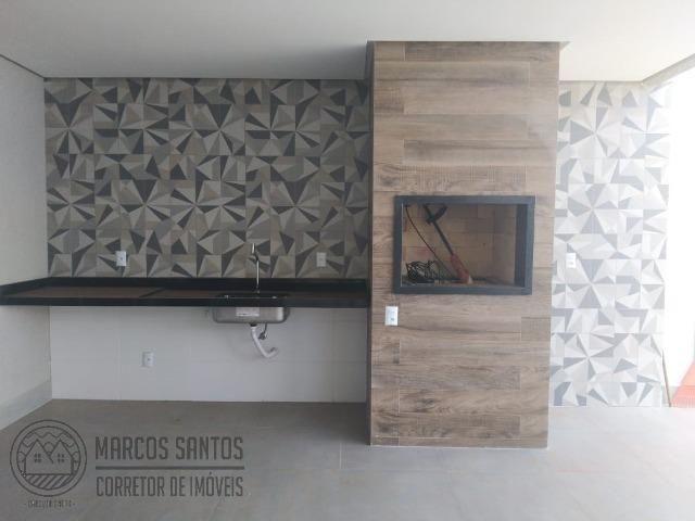 Linda casa nova moderna de alto padrão em rua 06 Vicente Pires - Foto 16