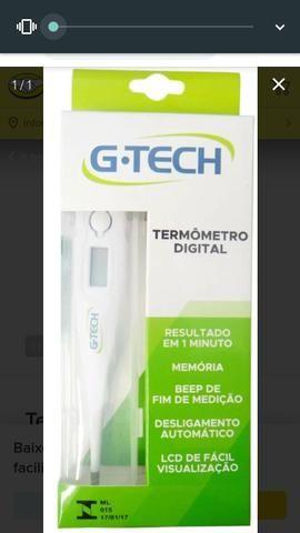 Termômetro digital nunca foi usado