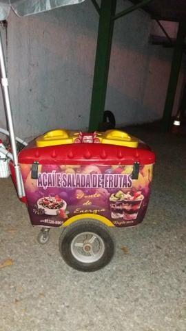 Carrinho de salada de frutas e açaí - Foto 4