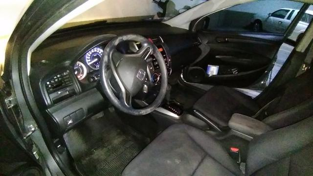 Honda City - 2013 - LX - Cinza - Aut. - GNV 5ª ger. 16 m3 - completo - 77 mil rodados - Foto 11