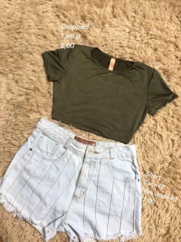 Varias roupas (Vestidos/Shorts/blusas) - Foto 6