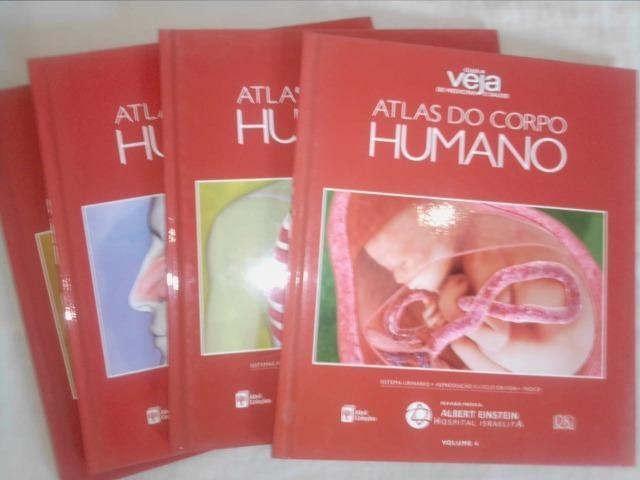 Atlas Do Corpo Humano - 4 Livros + Dvd Rom - Foto 2