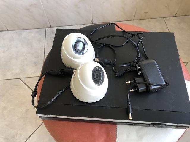 Vendo Dvr da Intelbras com duas câmera em Hd