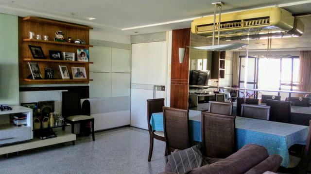 Apartamento projetado no Meireles 117m, 2 suítes com closet, Escritório, 3 vagas - Foto 3