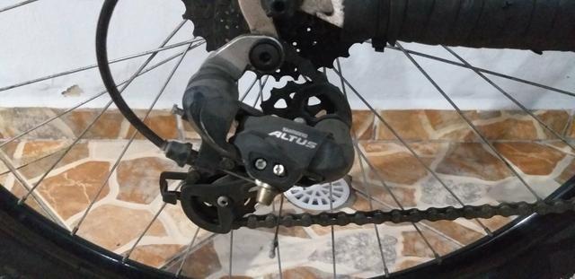 Bike aro 29 + acessórios - Foto 6