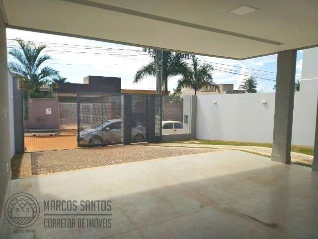Linda casa nova moderna de alto padrão em rua 06 Vicente Pires - Foto 4