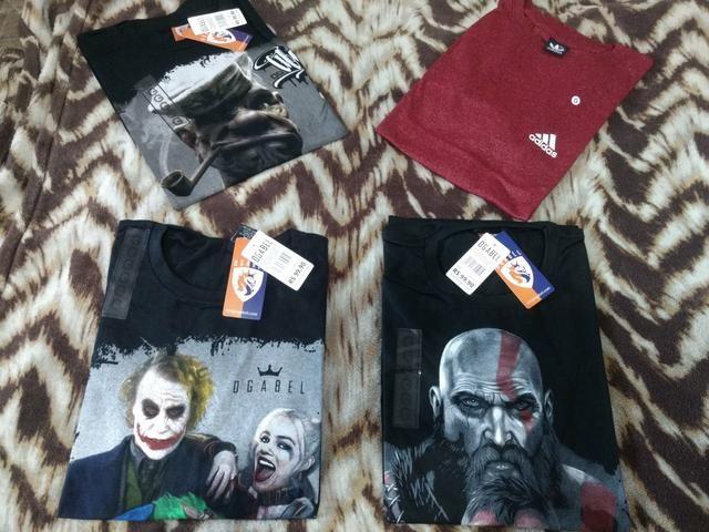 Camisas premium fio 30.1 aceito. cartão - Foto 3