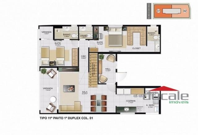 Davi Amarante Apartamento 2 quartos suíte em Bento Ferreira - Foto 9