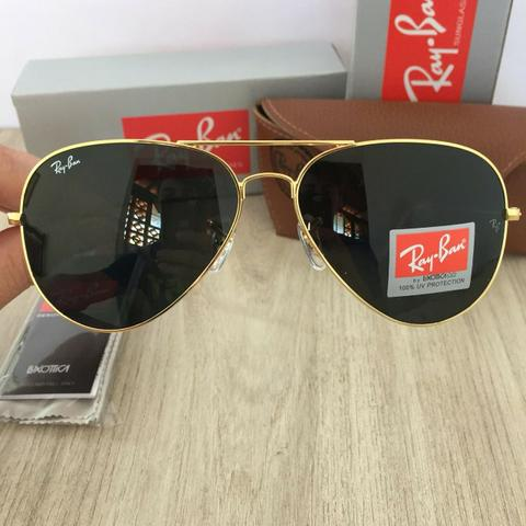 Óculos de sol ray ban aviador tradicional - Bijouterias, relógios e ... 08ad13552e