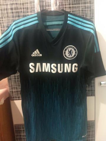 Troco camisa do Chelsea tamanho p modelo jogador por uma do REAL MADRID! fe43628730ac4