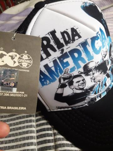 Boné do Grêmio de telinha - Bijouterias 70bd9d309dc55