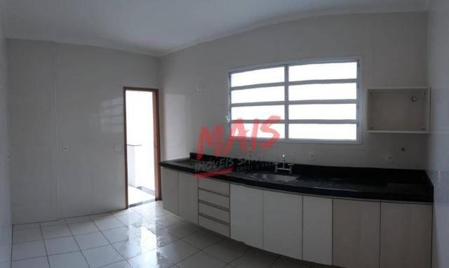 Casa com 3 dormitórios à venda, 105 m² - Ponta da Praia - Santos/SP - Foto 7