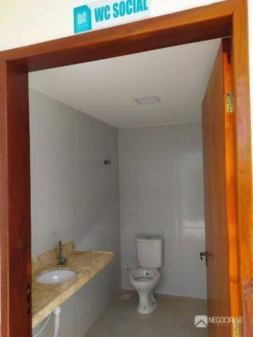 Apartamento com 2 dormitórios à venda, 63 m² por R$ 290.000,00 - Intermares - Cabedelo/PB - Foto 6