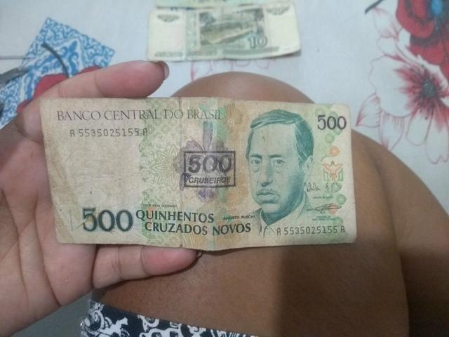 Notas de dinheiro antigas - Foto 6