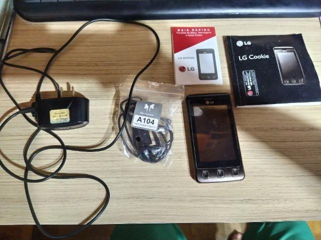 Lg Cookie Perfeito Estado Com Acessórios + Cartão Micro Sd - Foto 2