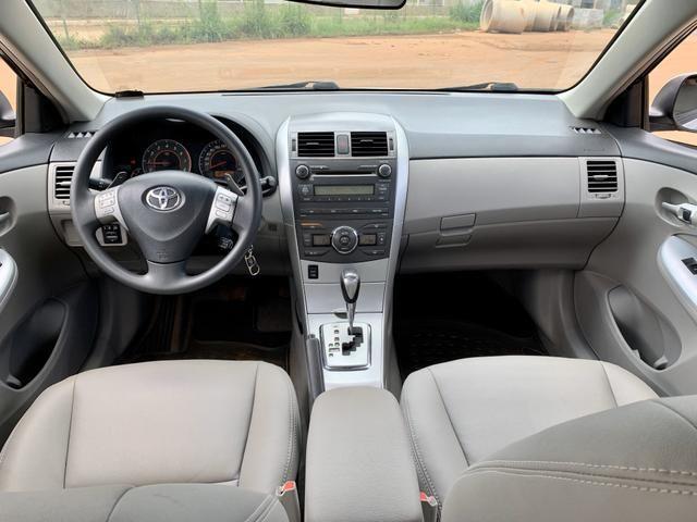 Toyota Corolla 2012 XEI automático ( Vendo à vista ou financiado ) Ac.troca - Foto 11