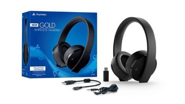 Headset Sony New Gold 7.1 Wireless Ps4 Original, Melhor preço!! - Foto 2