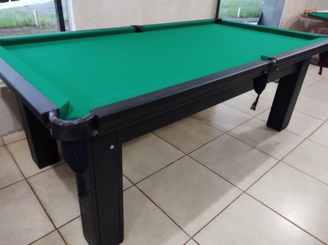 Troco mesa Sinuca Residencial/Pebolim/Ping pong Por Carro ou Moto - Foto 4