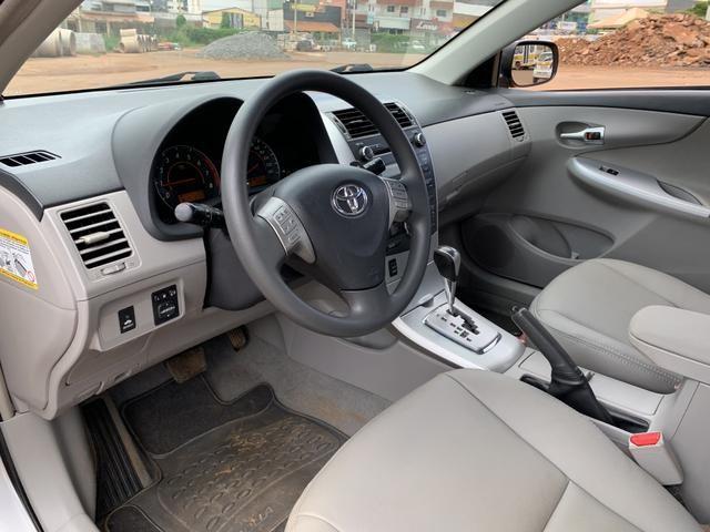 Toyota Corolla 2012 XEI automático ( Vendo à vista ou financiado ) Ac.troca - Foto 16