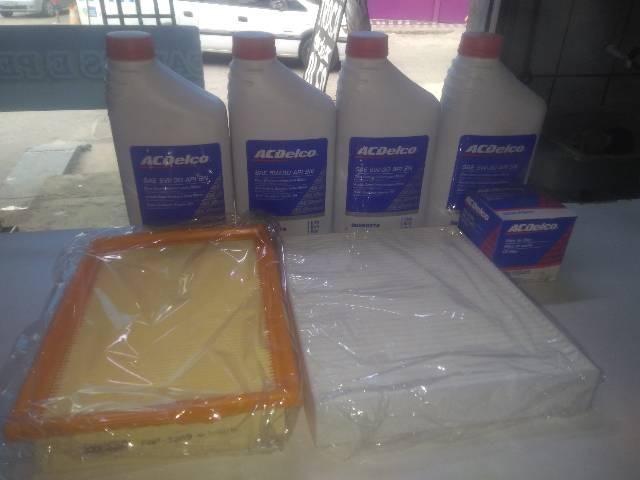 Kit Troca de Óleo 5W30 Semissintetico Acdelco - Foto 4