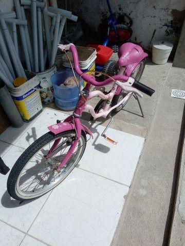 Baixei Bicicleta Caloi Barbie - Foto 3