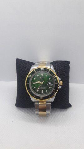 Relógio Arlanch Masculino Importado Pronta Entrega 3 Cores - Foto 4