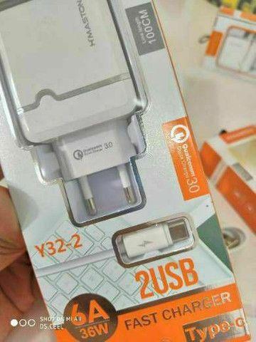 Carregador pra smartphone Samsung, LG, Motorola e Xiaomi  - Foto 6