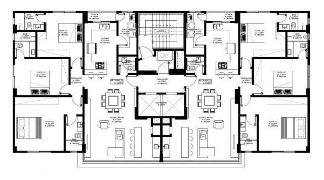 Apartamento à venda com 3 dormitórios em Centro, Balneário camboriú cod:694 - Foto 14