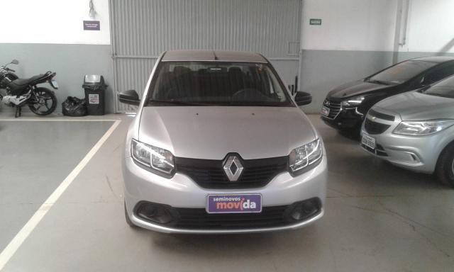 Renault Logan Authentique 1.0 12V SCe (Flex) - Foto 2