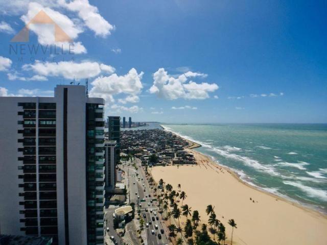 Apartamento com 4 quartos para alugar, 201 m² por R$ 9.499/mês - Boa Viagem - Recife - Foto 4