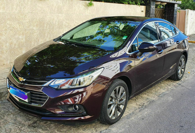 Chevrolet cruze ltz 1.4 turbo 2017 IPVA pago