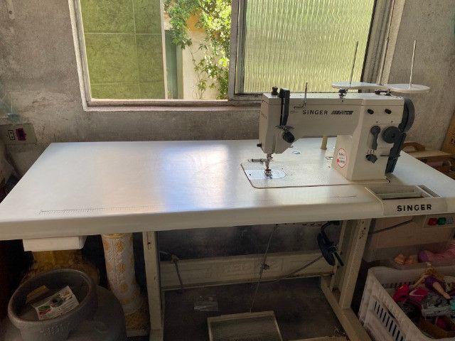 Máquina De Costura Reta E Zig Zag De 02 Pontos, Singer 20u73 - Foto 2