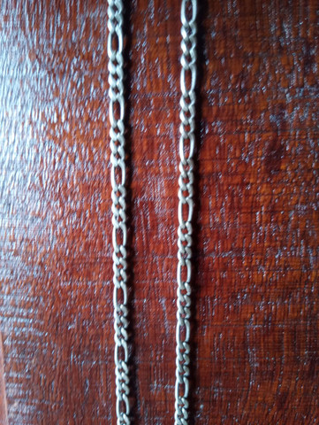 Cordão de prata 950 - Foto 2