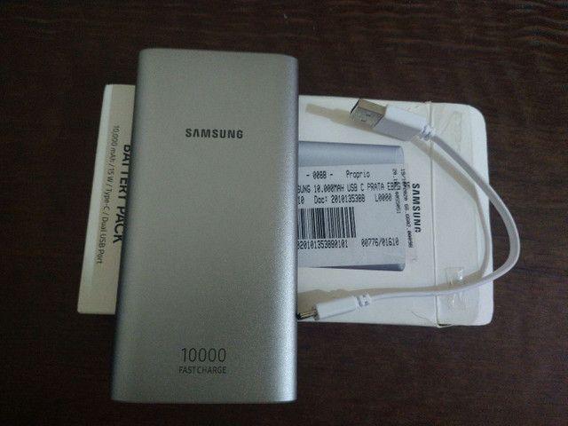 Bateria externa Samsung 10000 MAH nova.